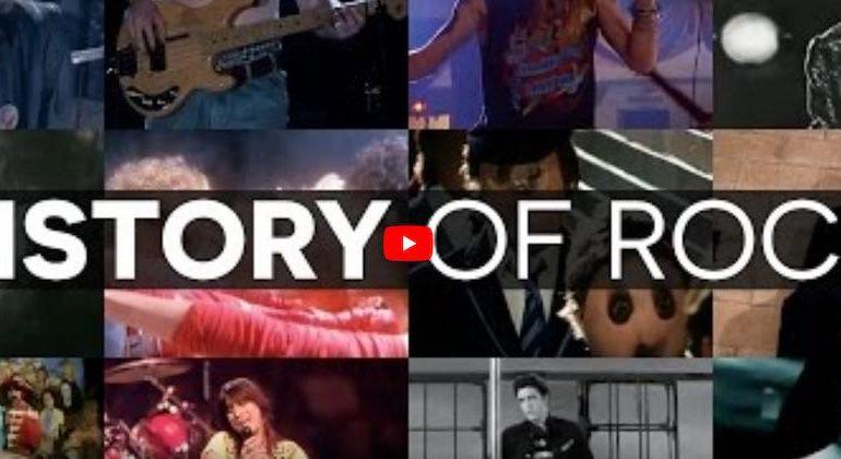 histoire du rock sur facebook