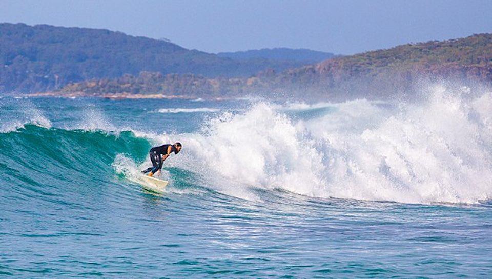 surf lors d'un séjour en Australie