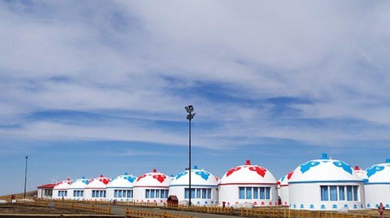 un camping en Bolivie
