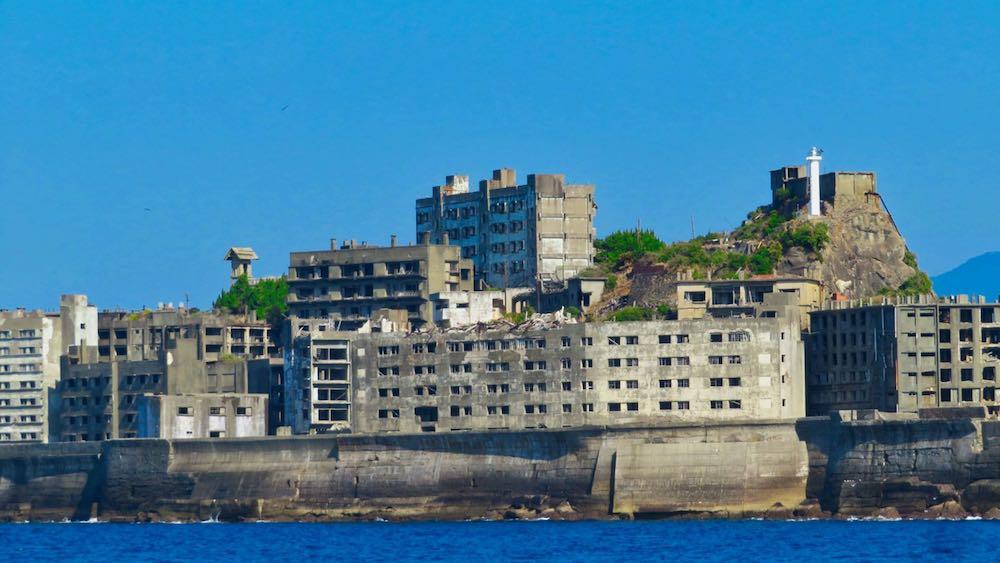 L'île fantôme de Hashima au Japon