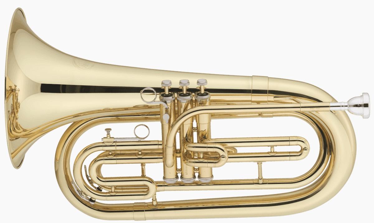 Instrument de fanfare à vent et à pistons