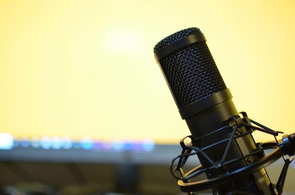Le micro emblématique du podcast
