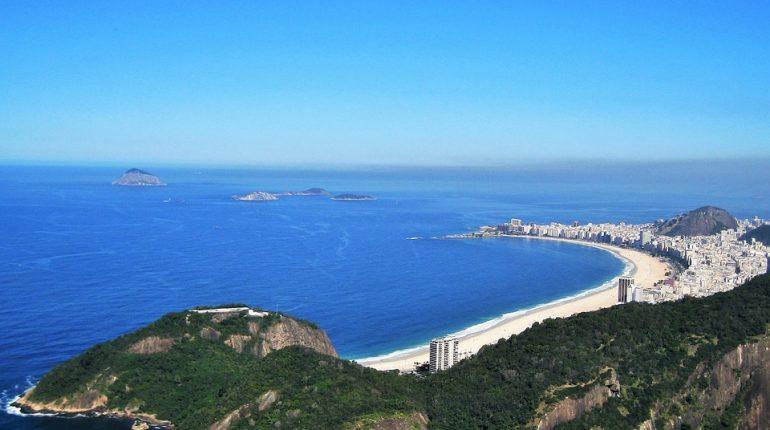 Copacabana au Bresil